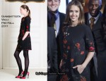 Jessica Alba In Giambattista Valli - NEA's Read Across America Kickoff with First Lady Obama