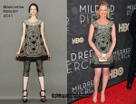"Gretchen Mol In Marchesa - ""Mildred Pierce"" New York Premiere"