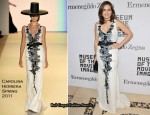 Mariska Hargitay In Carolina Herrera - Museum of the Moving Image Salute To Alec Baldwin