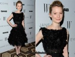 "Mia Wasikowska In Elie Saab Couture - ""Jane Eyre"" New York Premiere"