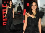 "Michelle Rodriguez In Basil Soda - ""Battle: Los Angeles"" LA Premiere"