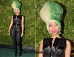 Nicki Minaj In Alexander Wang - Runway To Green Event