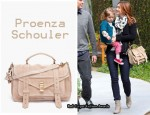 In Alyson Hannigan's Closet - Proenza Schouler PS1 Suede Satchel