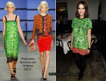 Jessica Alba In Proenza Schouler - 'Who What Wear' Book Launch Dinner Party