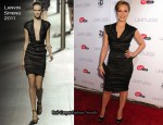 "Abbie Cornish In Lanvin - ""Limitless"" New York Premiere"