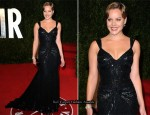 Abbie Cornish In Elie Saab - 2011 Vanity Fair Oscar Party