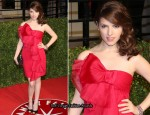Anna Kendrick In Notte by Marchesa - 2011 Vanity Fair Oscar Party