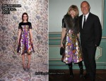 Anna Wintour In Balenciaga - Michael Kors 30th Anniversary Celebratory Dinner