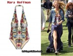 In Blake Lively's Closet - Mara Hoffman Crystal Story Printed Swimsuit