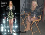 "Runway To ""Till The World Ends"" Video Shoot - Britney Spears In Burberry Prorsum"