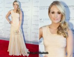 Carrie Underwood In Herve Leger by Max Azria -  Points of Light Institute Tribute