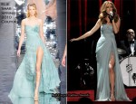 Celine Dion In Elie Saab, Armani Privé & Balmain - The Colosseum At Caesars Palace
