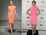 "Teresa Palmer In Christopher Kane - ""Take Me Home Tonight"" LA Premiere"