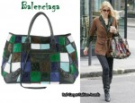 In Claudia Schiffer's Closet - Balenciaga 'Sunday' Bag