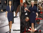 Helen Mirren In Lanvin - Hand And Footprint Ceremony
