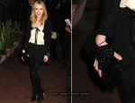 Emma Roberts In Chanel - Chanel and Charles Finch Pre-Oscar Dinner