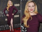 "Evan Rachel Wood In Elie Saab - ""Mildred Pierce"" New York Premiere"
