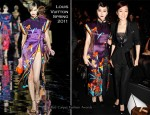 Fan Bing Bing and Gong Li Front Row @ Louis Vuitton Fall 2011