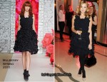 Fearne Cotton In Mulberry - Glamour's 10th Birthday Dinner