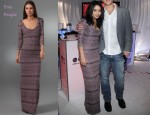 In Vanessa Hudgens' Closet - Free People Maxi Sweater Dress