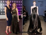 Gwyneth Paltrow In Antonio Berardi - Balenciaga and Spain Exhibit Opening Gala