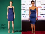 Halle Berry In Rachel Roy - Muhammad Ali's Celebrity Fight Night XVII