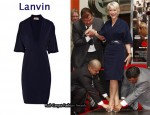 In Helen Mirren's Closet - Lanvin Stretch-Twill Dress