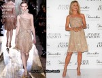 "Jennifer Aniston In Valentino Couture - ""Jennifer Aniston"" Mexico Fragrance Launch"