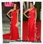 Who Wore Valentino Better? Jessica Alba or Selita Ebanks