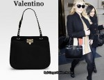 In Jessica Simpson's Closet - Valentino Rockstud Shoulder Bag