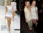 Kate Bosworth In Dolce & Gabbana - Nylon Magazine March Issue Party