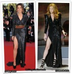 Who Wore Balmain Better? Kate Beckinsale or Celine Dion