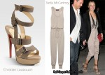 In LeAnn Rimes' Closet - Stella McCartney Jumpsuit & Christian Louboutin Toutenkaboucle Strappy Sandals