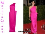 In Marisa Tomei's Closet - Martin Grant One Shoulder Finale Gown