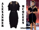In Jennifer Hudson's Closet - Alexander McQueen Draped Samaria Embroidered Dress
