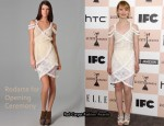 In Mia Wasikowska's Closet - Rodarte for Opening Ceremony Layered Ruffle Dress