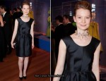 Mia Wasikowska In Balenciaga - Balenciaga and Spain Exhibit Opening Gala
