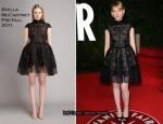 Mia Wasikowska In Stella McCartney - 2011 Vanity Fair Oscar Party