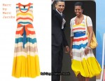In Michelle Obama's Closet - Marc by Marc Jacobs Simone Stripe Dress