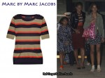 In Michelle Obama's Closet - Marc by Marc Jacobs Clemence Striped Sweater