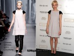 "Michelle Williams In Chanel Couture - ""Meek's Cutoff"" New York Screening"