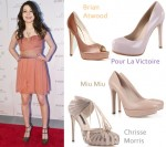 Celebrity Shoe Swap: Miranda Cosgrove