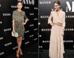 Olivia Palermo Attends Two Mango Shows In 4 Days