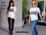 In Kristin Cavallari's Closet - One Grey Day OMG Tee