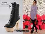 In Alexa Chung's Closet - Chloe Sevigny for Opening Ceremony Mary Anne Clog Boots