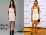 In Malin Akerman's Closet - Rag & Bone Hadleigh Dress