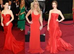 Red Carpet Oscar Trend: Red Hot Gowns