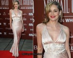 Sharon Stone In Christian Dior - Gorby 80 Gala At The Royal Albert Hall
