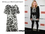 In Anna Paquin's Closet - Stella McCartney Leopard-Print dress