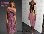 In Tika Sumpter's Closet - Rebecca Taylor Floral Pom Pom Dress